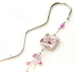 Silver or Goldtone Bookmark